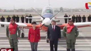 Presentan primer avión fabricado en Perú con tecnología coreana
