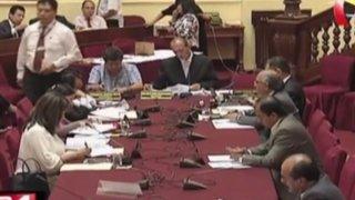 Comisión de Justicia debate despenalización del aborto en casos de violación