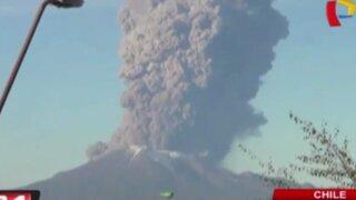 Chile: volcán amenaza región de Los Lagos y obliga a evacuación