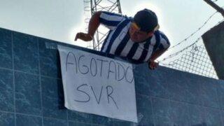 Se agotaron las entradas para el partido Alianza Vs César Vallejo