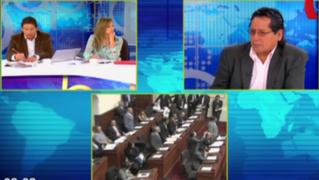"""Rubén Coa sobre debate de informes de Ética: """"Se debe respetar procesos parlamentarios"""""""