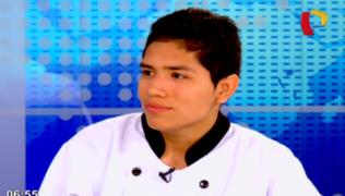 El súper chef Francesco: busca representarnos en final de concurso internacional