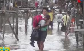 Iquitos: se cumplen 88 días de alerta roja por inundaciones