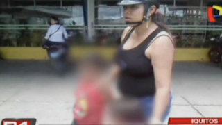 Intervienen a niños que trabajaban en grifo clandestino en Iquitos