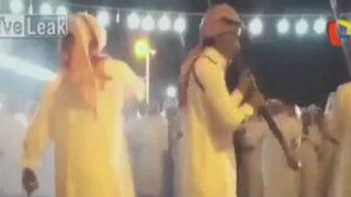 Disparo estuvo a punto de matar a hombre durante ritual en Arabia Saudita