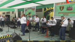 A ritmo de salsa se celebraron los 20 años del penal Sarita Colonia