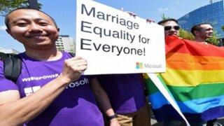 Miles de japoneses pidieron legalizar el matrimonio homosexual