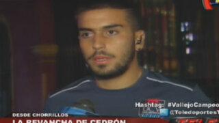 """Víctor Cedrón: """"El título es una revancha deportiva para mí"""""""