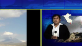 Alerta por volcán Ubinas: autoridades de Moquegua declaran en emergencia dos distritos
