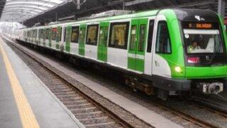 VIDEO: jóvenes asaltan y realizan pintas en un vagón del Metro de Lima