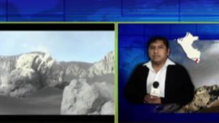 Moquegua: distritos Ubinas y Matalaque en emergencia por actividad del volcán