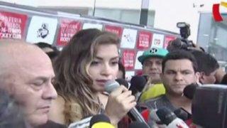 Milett Figueroa se pronuncia sobre video íntimo difundido en redes sociales