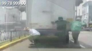 WhatsApp: skaters arriesgan sus vidas en Chorrillos
