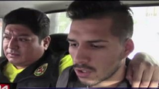 Detienen a esposo de Shirley Arica por golpear a policía