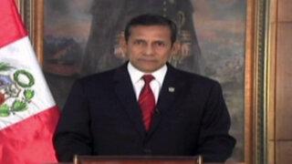 Ollanta Humala da a entender que Bachelet aceptó espionaje al Perú