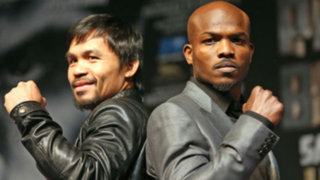 La pelea del siglo: Mayweather y Pacquiao ya están en Las Vegas