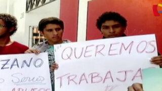 Bloque Deportivo: jugadores de Sport Rosario de Huaraz realizaron plantón en la Videna