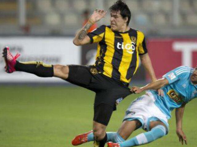 Bloque Deportivo: Cristal empató 1-1 con Guaraní y se va de la Libertadores