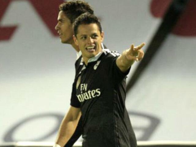 Real Madrid venció 4-2 al Celta de Vigo con doblete del 'Chicharito'
