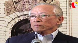 Humberto Lay renunció a presidencia de la Comisión de Ética del Congreso
