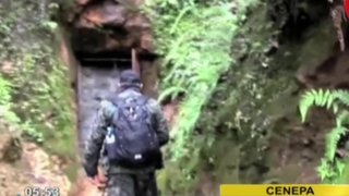 Clausuran túneles en Cenepa: mineros ecuatorianos ilegales ingresaban al país para extraer oro