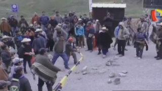 Cajamarca: pobladores se enfrentan a policías por proyecto minero Conga