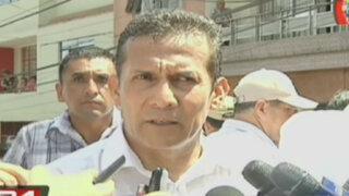 Humala dice que Cateriano insistirá en pedido de facultades para legislar