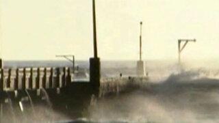 Oleaje anómalo: en todo el litoral peruano se sintió braveza del mar