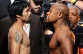 'La pelea del siglo': Mayweather y Pacquiao se enfrentan hoy
