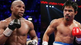 Floyd Mayweather y Manny Pacquiao: Todo listo para la 'Pelea del Siglo'