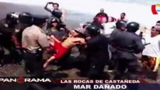 Mar dañado: las rocas de Luis Castañeda