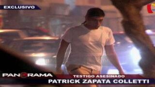 Caso Oropeza: lo que dijo Patrick Zapata Coletti ante la Dirincri