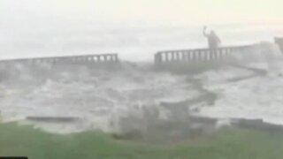 Especialista analiza situación de la Costa Verde tras fuerte oleaje
