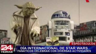 Miles celebraron en todo el mundo el Día Internacional de Star Wars