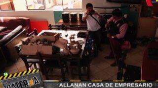 Allanan vivienda de empresario vinculado con Oropeza y Orellana