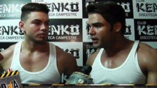 Reyes de la noche: Erick Sabater y 'Coto' realizaron candente show en discoteca