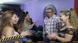 Fotografías muestran la cercana amistad de 'Las hechiceras' y el 'Chino' Saucedo