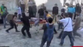 Siria: bombardeo en escuela de Alepo deja siete muertos