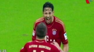 Claudio Pizarro sería titular ante Barcelona en la Champions League