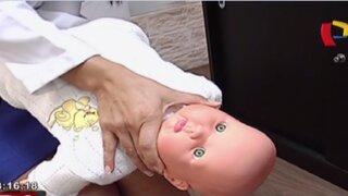 Conozca cuáles son los primeros auxilios en caso de atragantamiento de bebés