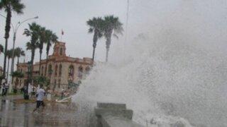 Anuncian nuevo periodo de oleajes en el litoral a partir de este domingo