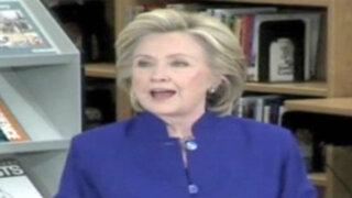 EEUU: Hillary Clinton propone nacionalizar a indocumentados