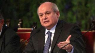 Premier Cateriano niega que el Gobierno realice seguimiento político