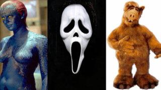 FOTOS : ¿Quiénes estuvieron detrás de famosos personajes del cine y televisión?