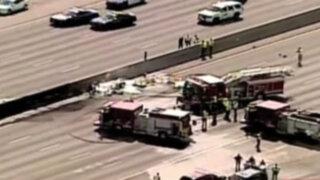 EEUU: caída de avioneta deja cuatro muertos en Atlanta