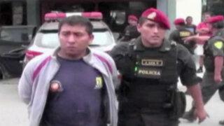 Huachipa: tras gran persecución cae banda que asaltó empresa