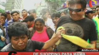De shopping con Pompinchú: En busca del mejor regalo para mamá