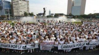 México: cientos de personas marcharon contra la violencia en Jalisco