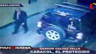 Gerson Gálvez Calle: 'Caracol', el protegido