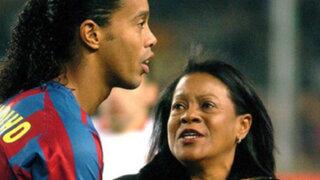 Ronaldinho y el emotivo mensaje que le dedicó a su mamá